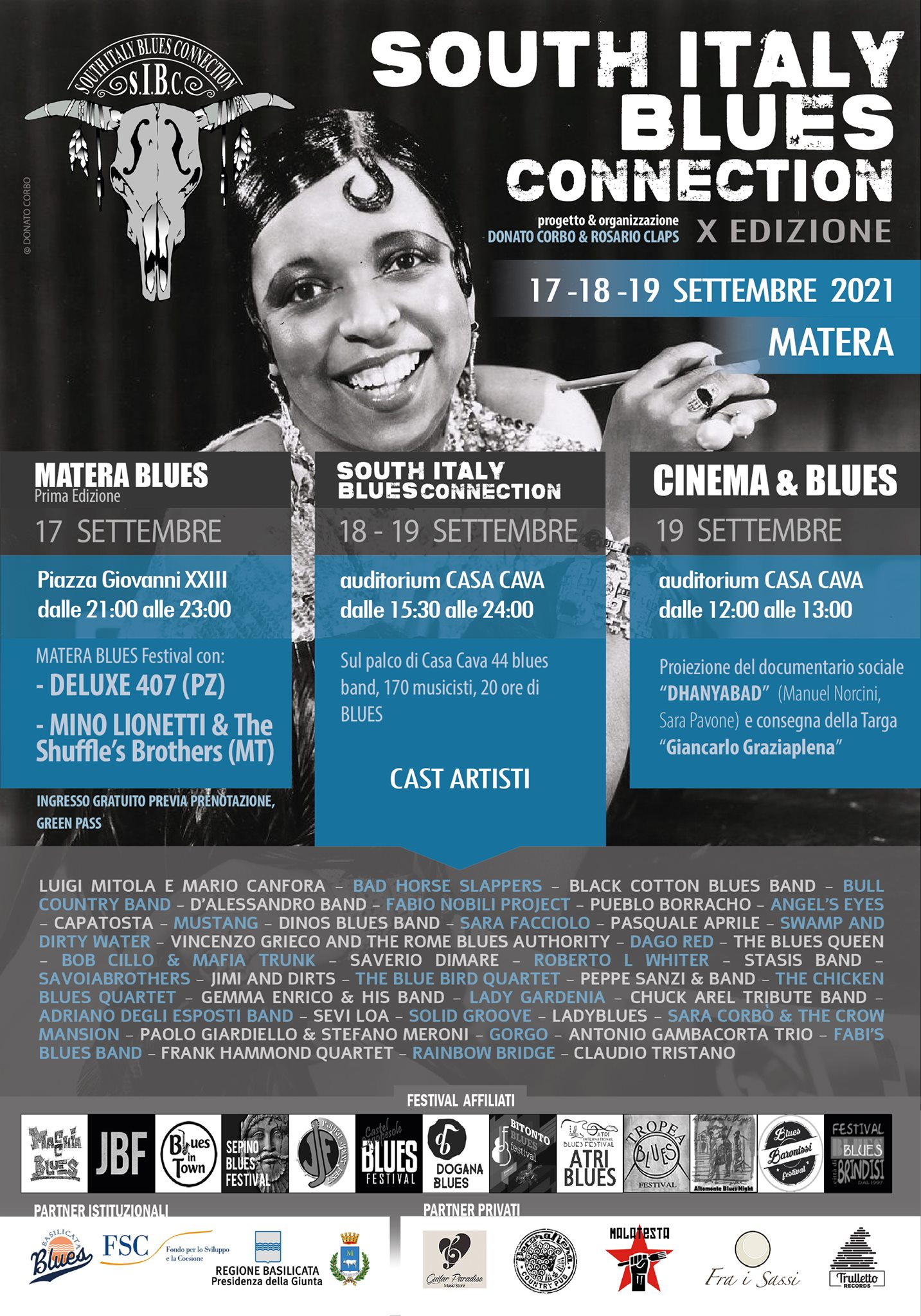 South Italy Blues Connection - 2021